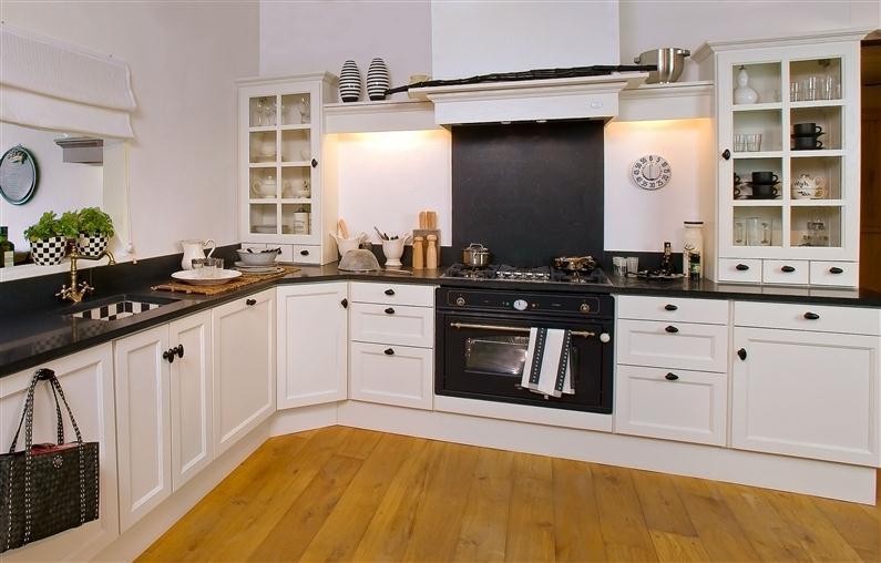 keuken landelijk wit
