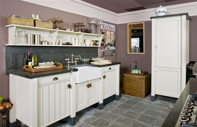 Landelijke keukens eco keukens - Keuken voor klein gebied ...