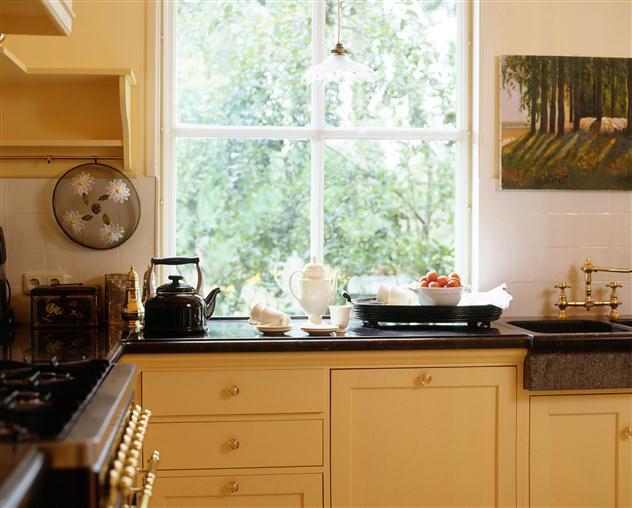 Oud hollandse keuken wit