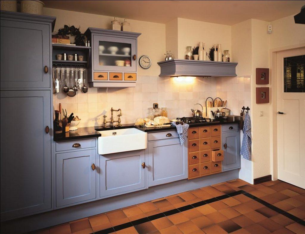 Keuken2 eco keukens - Oude stijl keuken wastafel ...