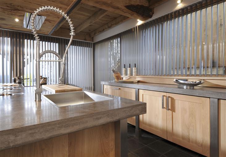 Landelijke keuken modern