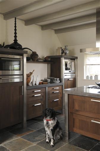 nostalgische keuken landelijk modern
